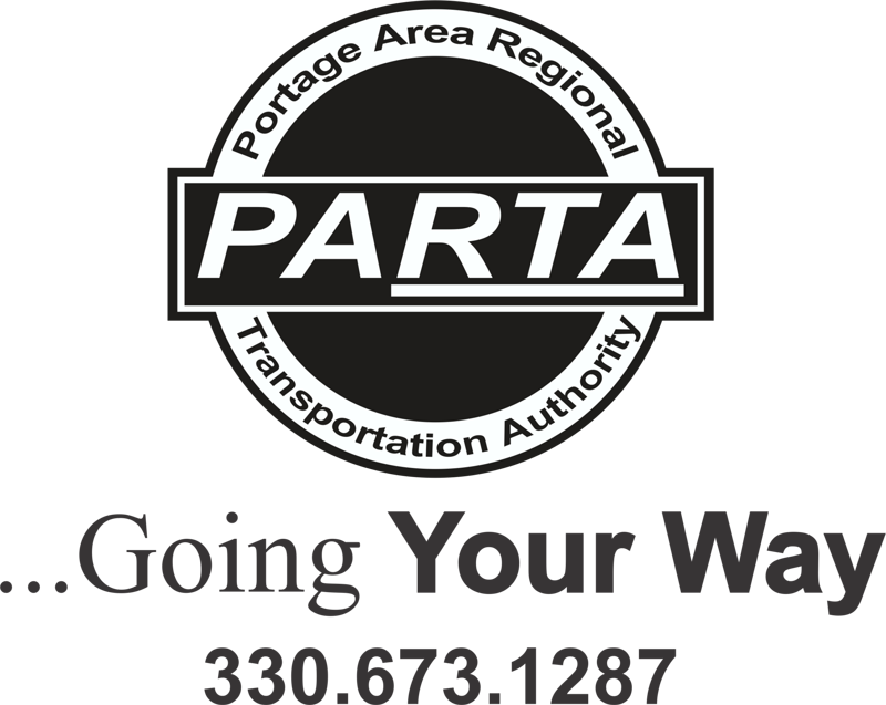 PARTA  logo and phone